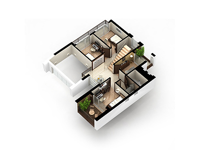 isometric-OO house